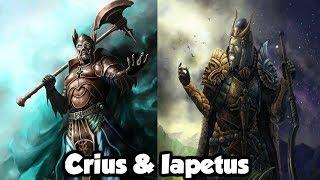 Crius: The Titan of Constellations & Iapetus: The Titan Of The Mortal Life Span - (Greek Mythology)
