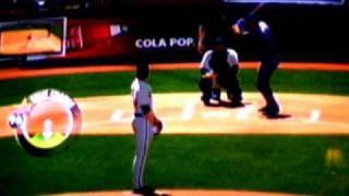 MLB 2k11 Gameplay