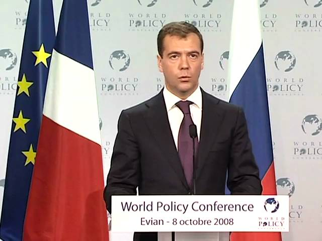 Dmitry Medvedev - Closing Session Part 1