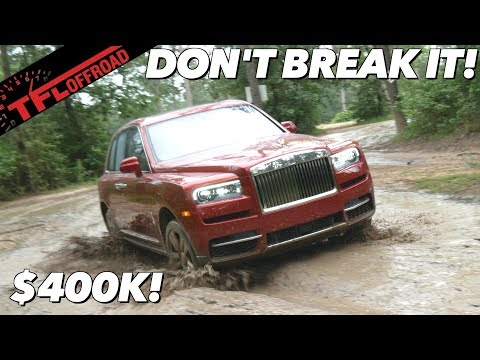 We Plunge The $400,000 Rolls-Royce Cullinan Into The Mud - And Hope We Don't Break It!