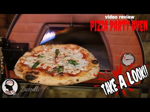 """FANTASTIC """"PIZZA PARTY OVEN"""" FOR YOUR BACKYARD (Video review)"""