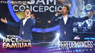 "Your Face Sounds Familiar: Sam Concepcion as Erik Santos - ""This is The Moment"""