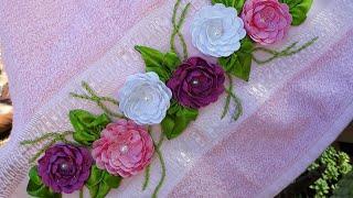 Rosinhas de Sianinha Trançadas Para Customização de Seus Artesanatos