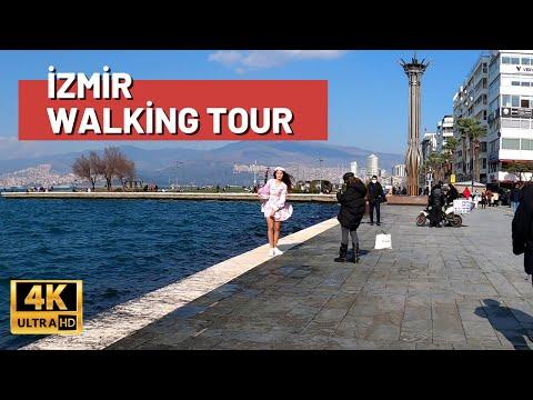 Izmir City Walking Tour I Turkey Travel Guide 2021