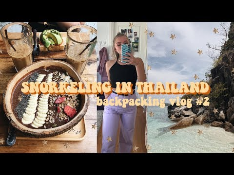 Snorkeling in Thailand + Try-on Haul  | BACKPACKING VLOG #2 thumbnail