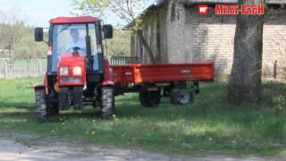 Przyczepa rolnicza T736/2 Metal-Fach