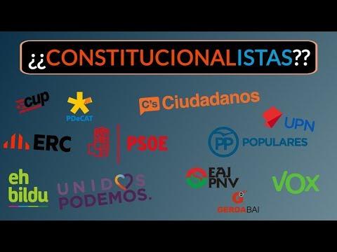 Constitucional, pero NO constitucionalista