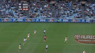 AFL 2009 Round 17 Geelong v Hawthorn Final 5mins