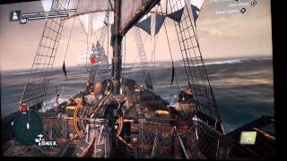 AC4 Black Flag How to farm money  fast. 10 000 R/5 min