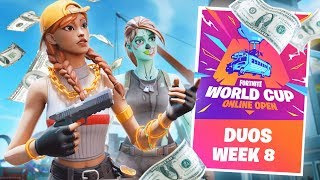 Fortnite World Cup Qualifiers LIVE Gameplay! (Fortnite Battle Royale)