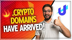 Unstoppable Domains: Crypto Domain Launch! (CLAIM YOURS) 🌐