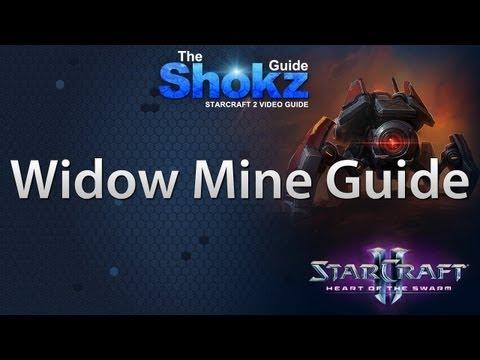 Heart Of The Swarm: Terran Widow Mine Guide