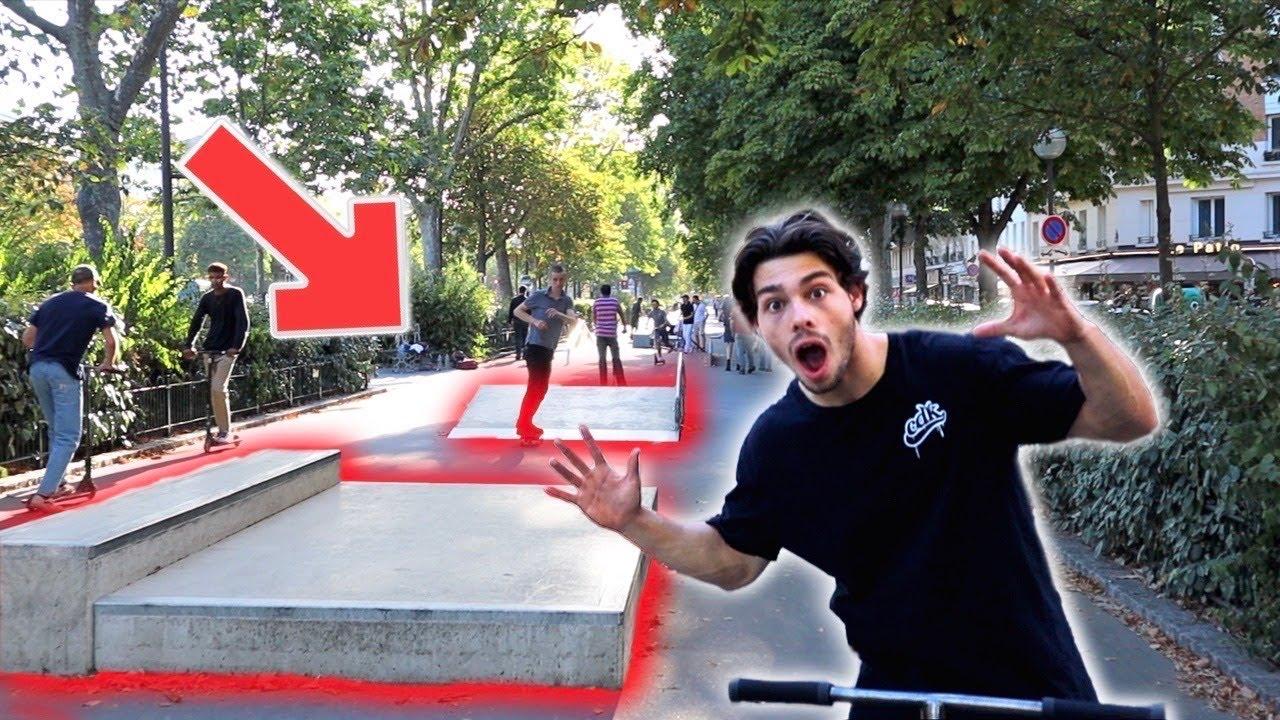 UN SKATEPARK EN PLEINE RUE ! (Vlog)