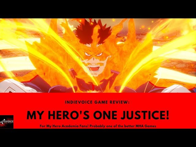 My Hero's One Justice Game Review - Could have been better...
