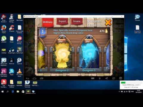 Castle Clash: Best Trick For Farming Shards EVER !!!