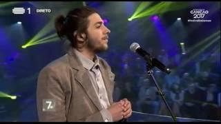 Salvador Sobral - Amar Pelos Dois - 1ª Semifinal | Festival da Canção