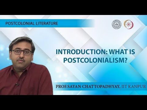 Lecture 01 - Introduction: What is Postcolonialism?
