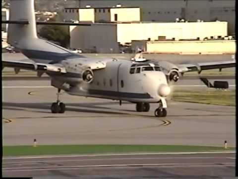 De Havilland Canada DHC-4A Caribou's in Action at BUR