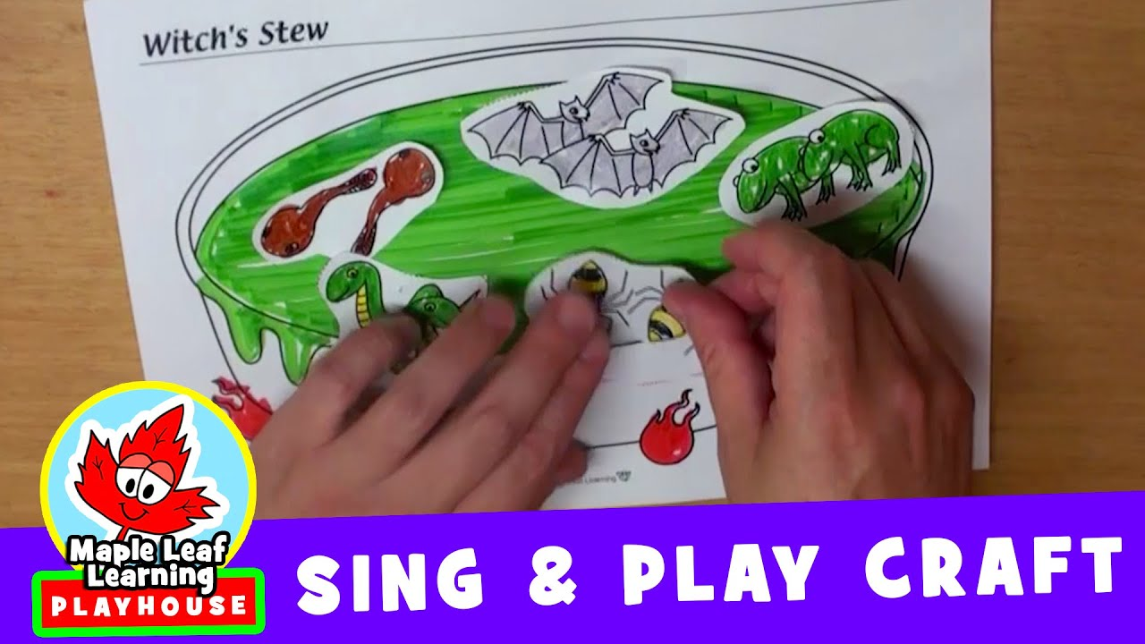 Witch's Stew Halloween Craft | Sing and Play Craft for ...