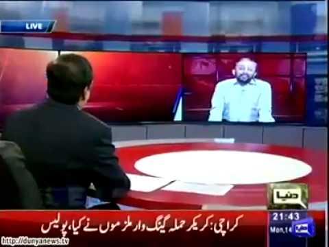 Kamran Khan blasted over Farooq Sattar