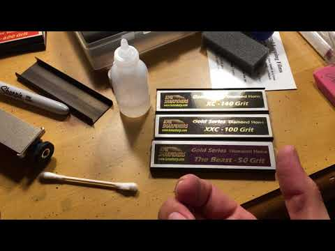 KME Sharpening Tip : Low Grit Stones & Chasing The Burr