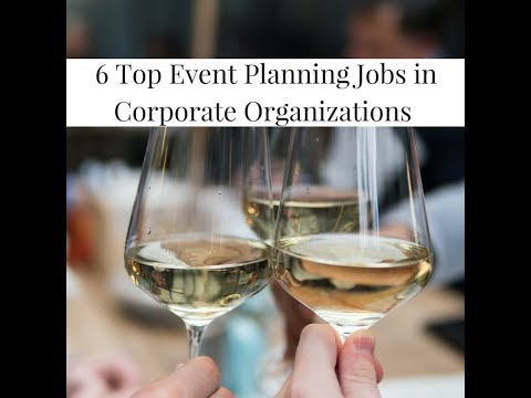 How To Search For Event Planning Jobs Titles