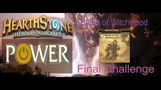 [Hearthstone] Battle of Witchwood Defeat Hagatha the Witch  | Monster Master Final Challenge