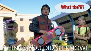 7 MORE Things You (Probably) Didn't Know About Back to the Future!