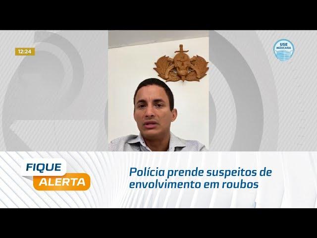 Polícia prende suspeitos de envolvimento em roubos contra entregadores de delivery em Maceió