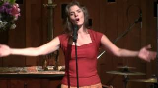 """Erin McGaughan Chant """"Namo Guan Shi Yin Pusa""""—Seattle Unity Church—07-20-2014"""