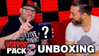 December 2018 Horror Pack Unboxing! - Horror Movie Subscription Box