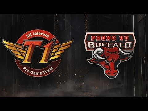 SKT vs PVB | Group Stage Day 2 | 2019 Mid-Season Invitational | SK telecom T1 vs. Phong Vũ Buffalo