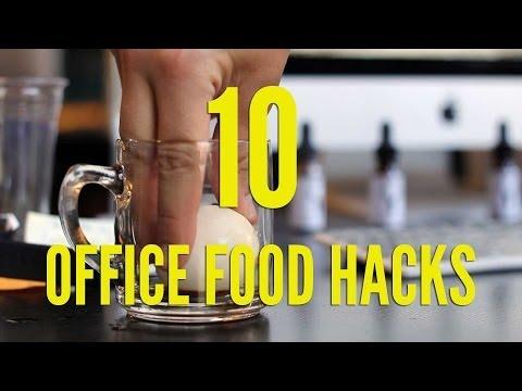 10 Office Food Hacks | FOODBEAST LABS