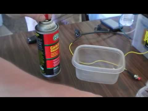 how to clean fuel injector! DIY marine world