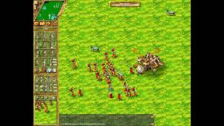 The Settlers IV Defeating Manacopter