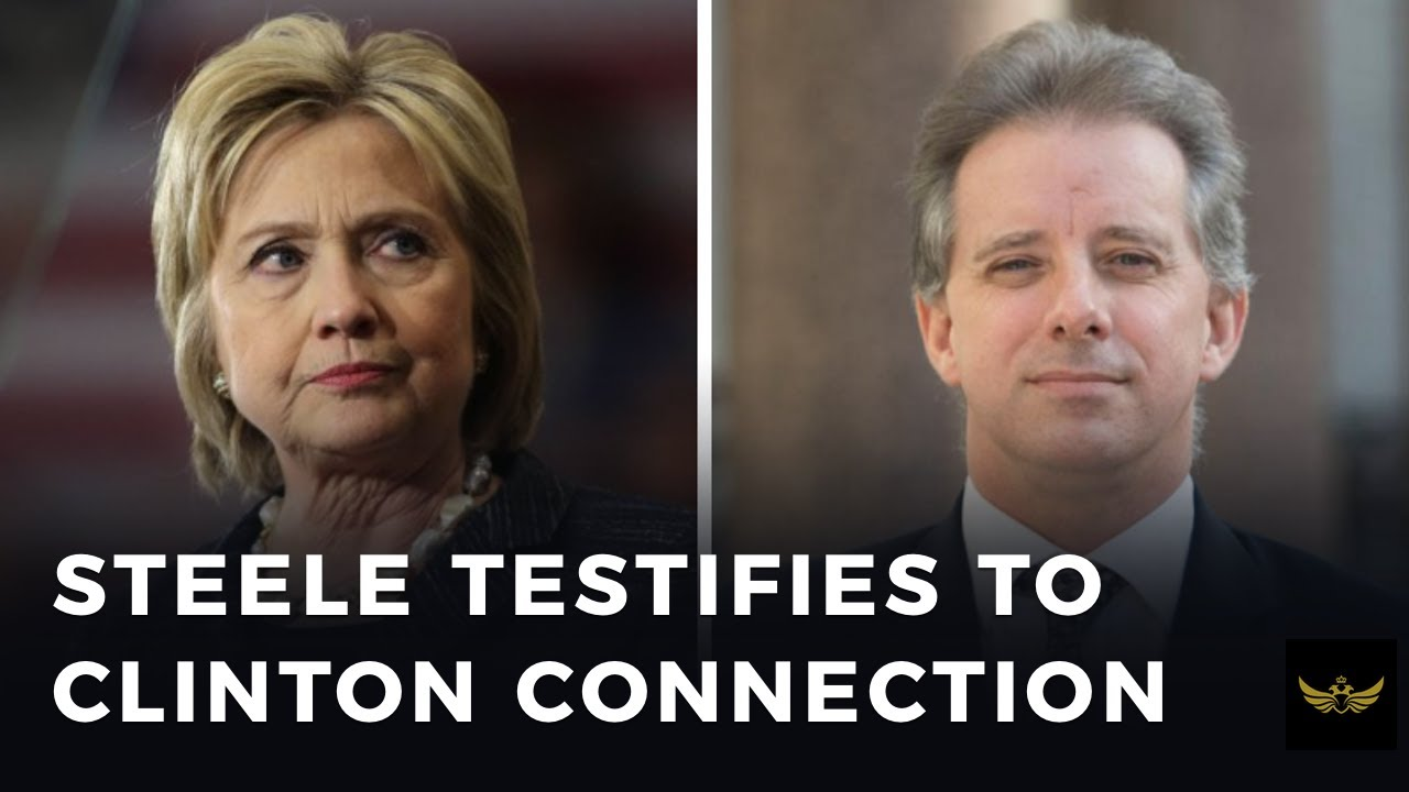 Steele testifies in UK, admits to deep ties with Clinton machine