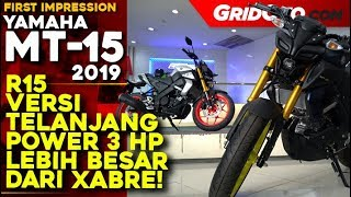 First Impression Yamaha MT-15 | First Impression Review | GridOto