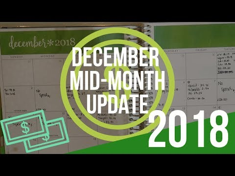 December 2018: Budget | Mid Month Update | Baby Step 2