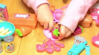 Minnie Mouse Kitchen Accessory Kit | Kitchen Set | Mickey Shaped Toys