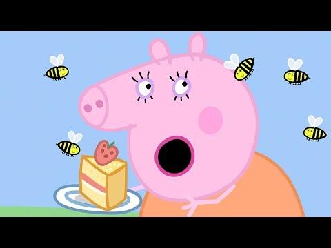Peppa Pig in Hindi - Picnic - Picnic Mana Rahi Hai  - हिंदी Kahaniya - Hindi Cartoons for Kids
