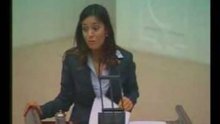 Özlem Türköne'nin 01.11.2007 tarihli genel kurul konuşması I