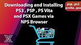 PlayStation Classic NoPayStation Browser (NPS - All Games