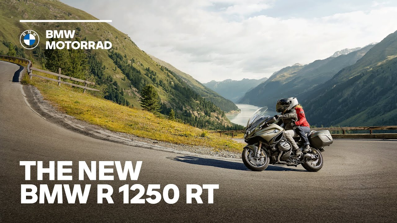 The new BMW R 1250 RT - Built for Touring