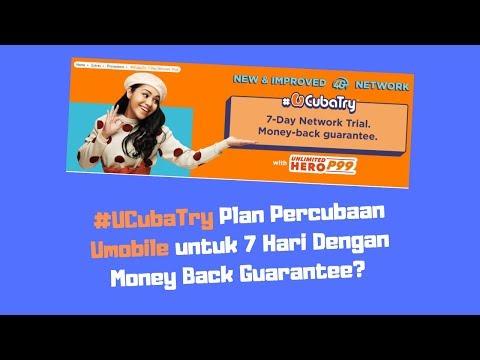 UMobile #UCubaTry - Plan Percubaan UMobile 7 Hari Dengan Money Back Guarantee