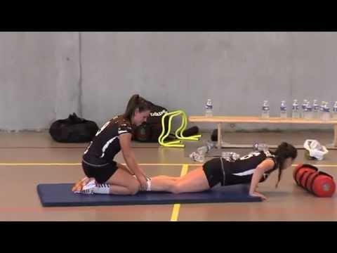 Entrenamiento de fuerza para el balonmano Thierry Guegan Parte 2