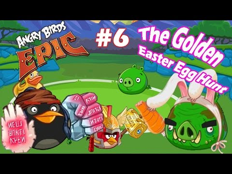 All Easter Egg Locations 1-10 - Angry Birds Easter Egg ...