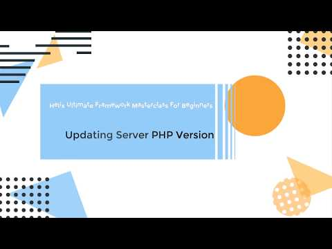 Updating Joomla's Server PHP Version To Latest (PHP 7.3)