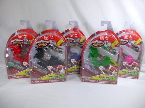 Review: Dino Charger Power Packs - Series 1 Wave 1 (Power Rangers Dino Charge)
