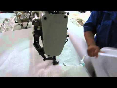 72600 Máquina de coser industrial recta pesada para fabricacion de maxisacos (Big Bag)