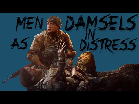 Men As Damsels In Distress - Tropes vs Men in Video Games